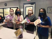 Cedarville's Teachers greatly appreciated their goodie bag!